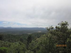 Panorama depuis le chemin de ceinture